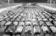 1918 flu epidemic. Photographer unknown.