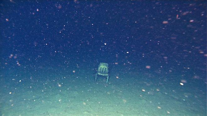 Ocean Floor Trash The Study 171 Discard Studies