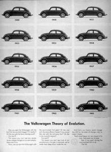 volkswagen theory of evolution