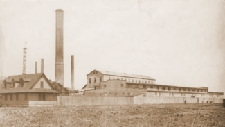 Brooklyn Ash Removal Co. Incinerator Barren Island, Brooklyn, NY. Photo from Brooklyn Public Library archives. n.d. Approx 1800's