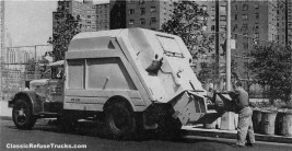The DSNY bought 165 of the restyled Roto-Pacs in 1953; by '57 they had purchased over 1,000 units mage from http://www.classicrefusetrucks.com/.