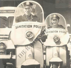 Sanitation Police, New York City 1963. Baltimore Sun.