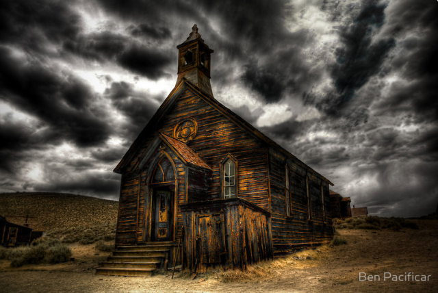 """""""Bodie Ghost Town"""" by artist Ben Pacificar."""