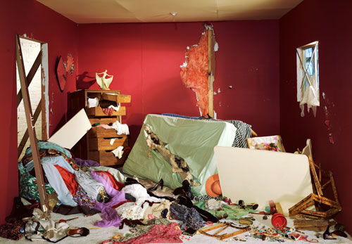 Jeff Wall, The Destroyed Room, 1978. Glenstone.