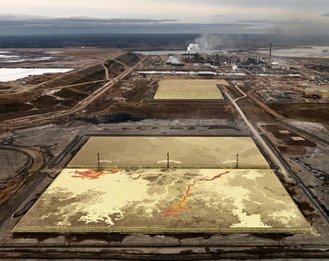 "Edward Burtynsky. ""Alberta Oil Sands #6 Fort McMurray, Alberta, Canada,"" 2007."