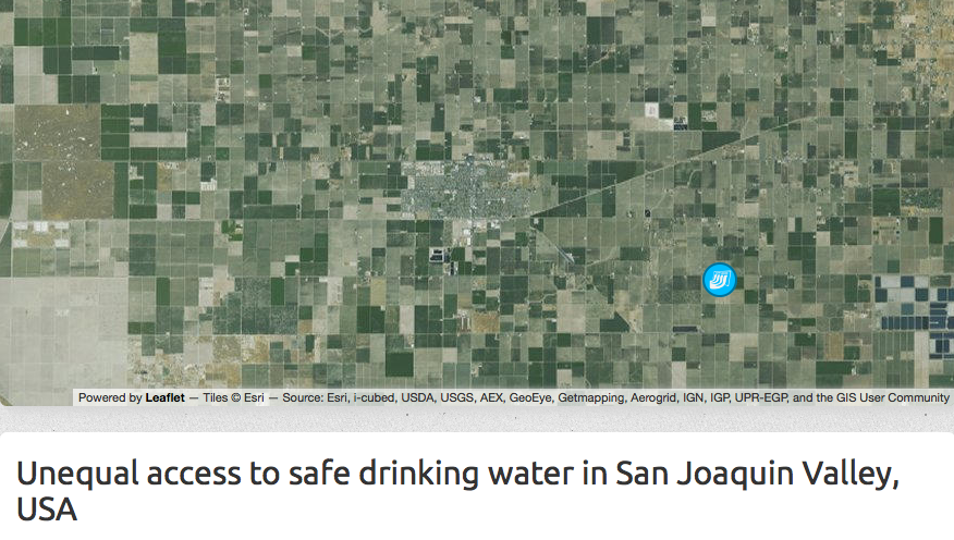 San Joaquin Unequal Access To Drinking Water