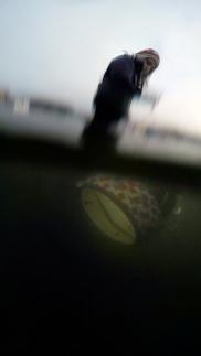 The Scoop is like an underwater butterfly net.