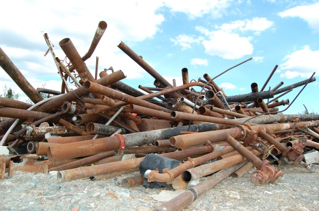 Pipes at Giant Mine