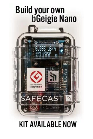 The SafeCast Geiger counter.