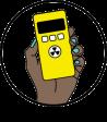 Logo. Radiation Monitoring Project.